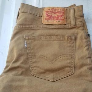 Levi 511 Cutoff Shorts